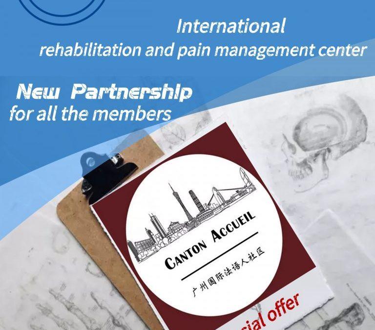 Partenariat avec Sébastien Dupart, ostéopathe à Canton. Nouveaux tarifs pour les membres Canton Accueil !